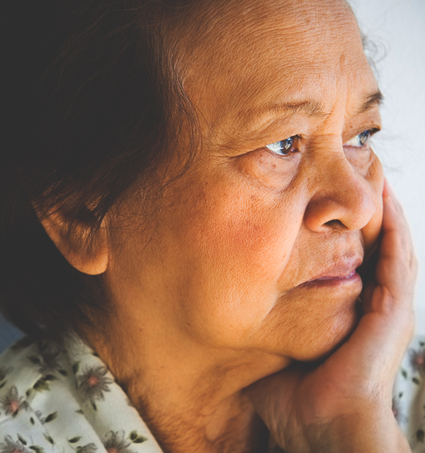 Woman who needs help from a Hawaiian attorney